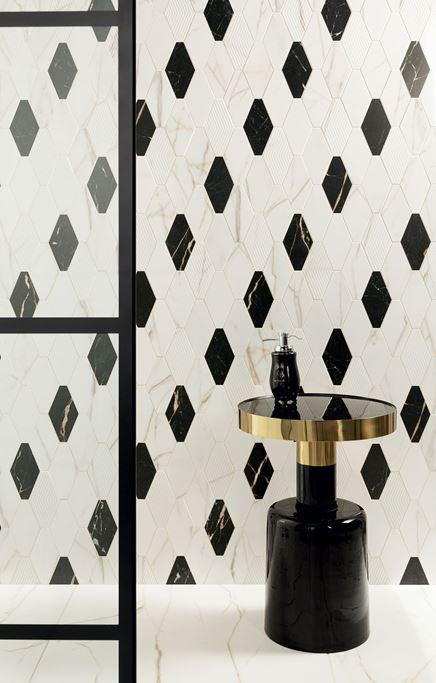Mozaikowa ściana Domino Floris