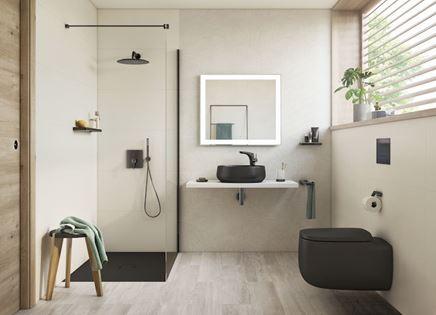 Nowoczesna łazienka z oryginalną ceramiką