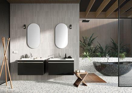 Aranżacja nowoczesnej łazienki w szarościach