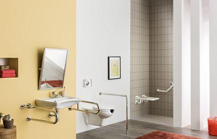 Aranżacja nowoczesnej łazienki z udogodnieniami dla osób niepełnosprawnych