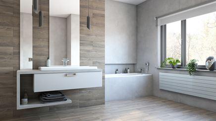 Łazienka w drewnie - Canaletto