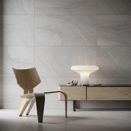 Szary kamień w stylowej łazience Cersanit Spectral