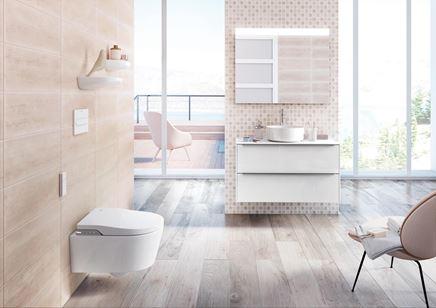Łazienka w stonowanych kolorach z Roca Inspira