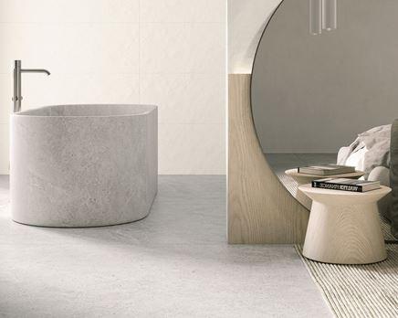 Minimalistyczna łazienka przy sypialni