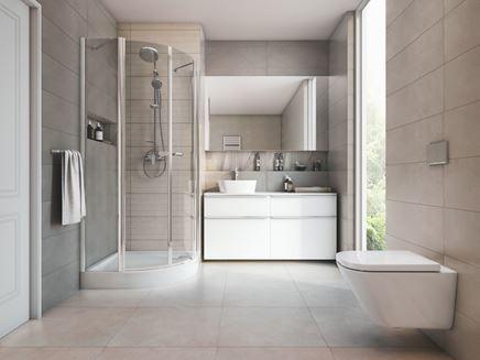 Aranżacja jasnej łazienki w nowoczesnym wydaniu