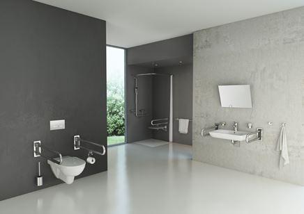 Aranżacja łazienki z udogodnieniami dla osób niepełnosprawnych