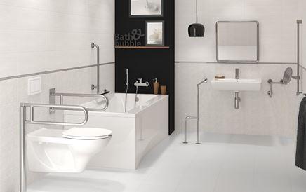 Aranżacja łazienki z rozwiązaniami dla osób niepełnosprawnych