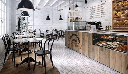 Kawiarnia w stylu vintage