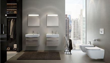 Aranżacja łazienki z wykorzystaniem kolekcji Opoczno Metropolitan