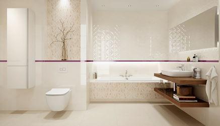 Klasyczna łazienka w subtelnych barwach
