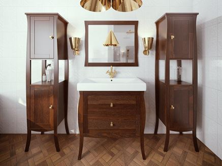 Łazienka z klasycznymi meblami Defra Barrel