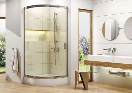 Aranżacja łazienki z Deante Begonia