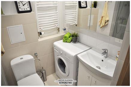 Mała, ale praktyczna łazienka