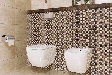 Mozaika Tubądzin Fiorino, miska Ness