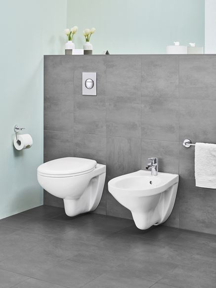Aranżacja strefy toaletowej Grohe BauEdge