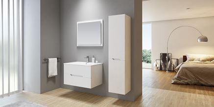 Kolekcja nowoczesnych mebli łazienkowych New Trendy Frea