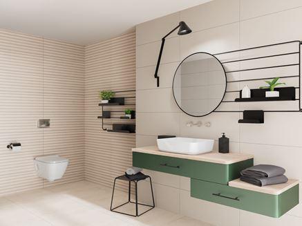 Aranżacja jasnej łazienki w nowoczesnym stylu