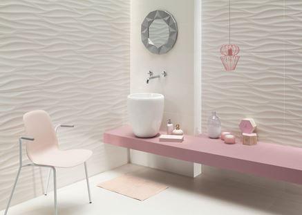 Wybieramy płytki ceramiczne: przestrzenne wzory