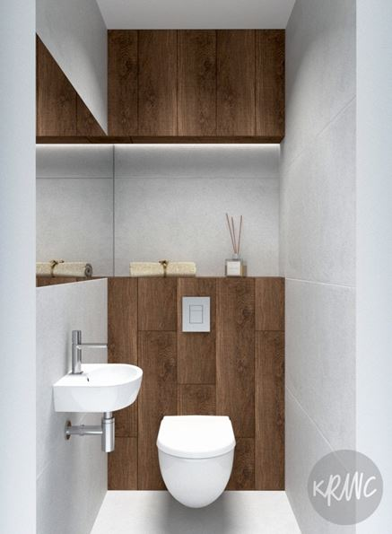 Projekt nowoczesnej toalety