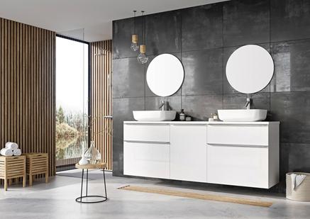 Modułowe meble łazienkowe Elita Lofty