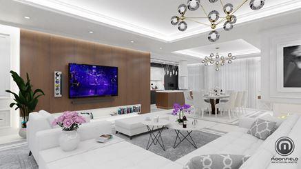 Przestronny i elegancki salon - Bellezza
