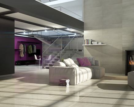 Aranżacja salonu w loftowym klimacie