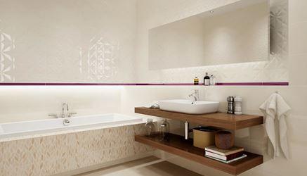 Aranżacja łazienki w beżowych kolorach
