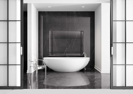 Łazienka w dużym formacie Cerrad Marquina