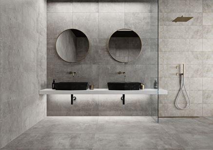 Aranżacja łazienki w kolekcji Cerrad Softcement