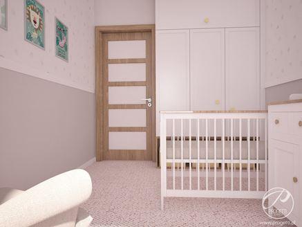 Projekt pokoju dziecięcego autorstwa Progetti Architektura