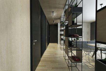 Pomysł na praktycnzy korytarz w mieszkaniu