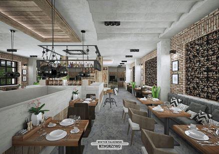 Rewaloryzacja starej fabryki na restaurację