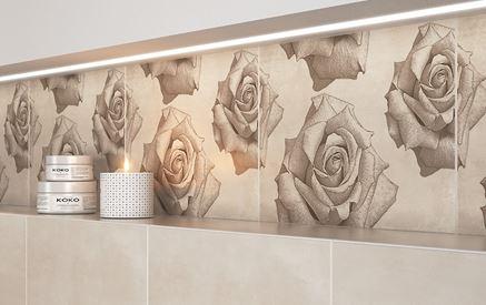 Rosita - dekor kwietny