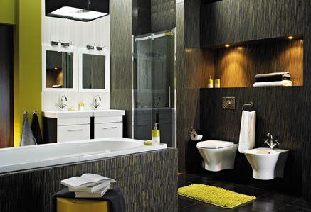 Łazienka z nutą egzotyki