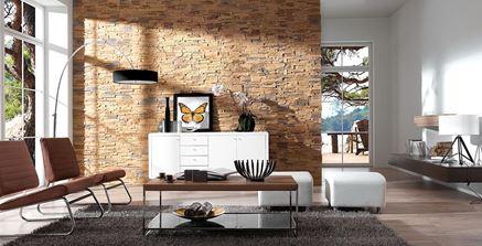 Salon z naturalnymi materiałami Stone Master Roma Karmel