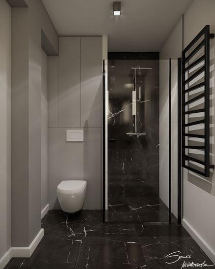 Łazienka z mocnym akcentem