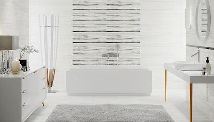 Smugi w pastelowej bieli - Opoczno Artistic Way