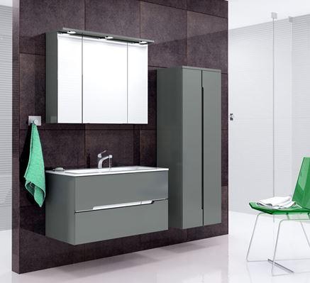 Aranżacja łazienki z Oristo Silver