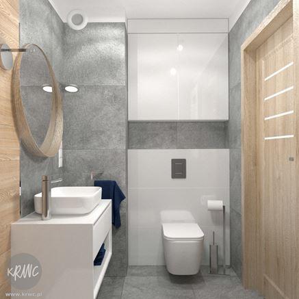 Aranżacja łazienki w projekcie KRWC Design