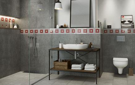 Cersanit Monti - aranżacja łazienki