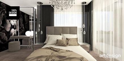 Toaletka w sypialni glamour