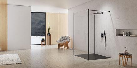Minimalizm i nowoczesność w aranżacji łazienki New Modus Black