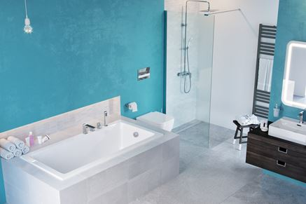 Aranżacja łazienki z serią Excellent Keria