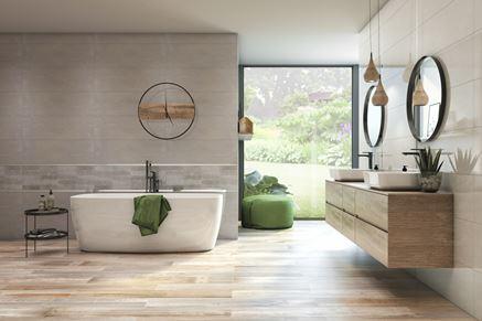 Azario Grandes - łazienka w drewnie