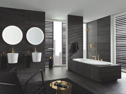 Łazienka glamour dla dwojga