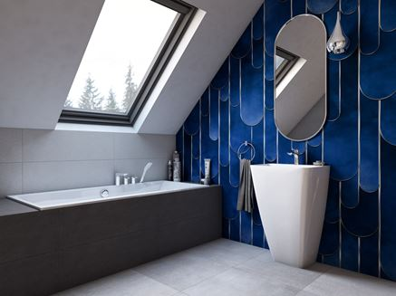 Aranżacja łazienki na poddaszu