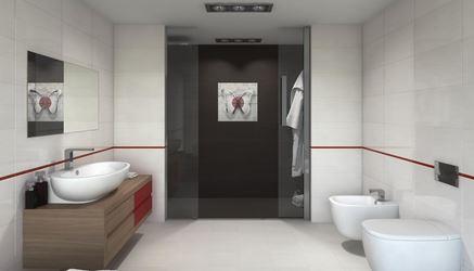 Aranżacja nowoczesnej, przestronnej łazienki
