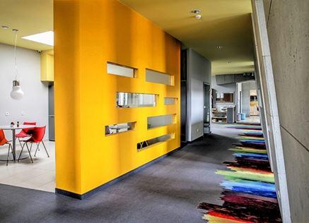 Wnętrza biura firmy Ericod
