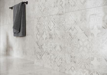 Cerrad Softcement white patchwork - Detal