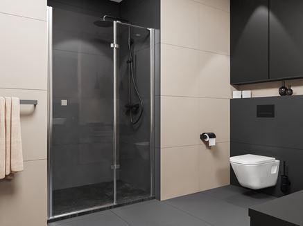 Aranżacja nowoczesnej łazienki z kabiną wnękową